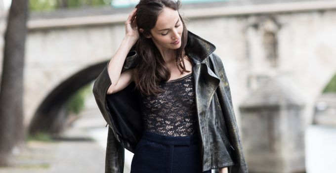 Street style: how to wear lingerie out and about