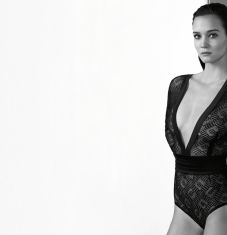 "The tuxedo bodysuit, an ""It"" piece by ERES"