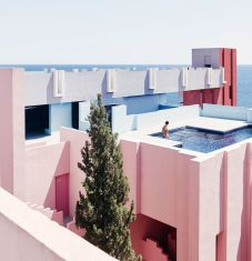The Muralla Roja by Ricardo Bofill