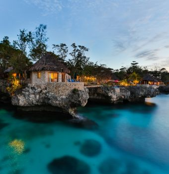 Rockhouse, an exceptional boutique hotel on the volcanic coastline of Jamaica
